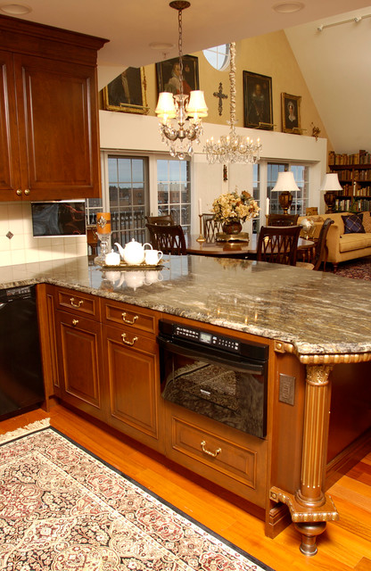 Warm Indulgence Traditional Kitchen Chicago By
