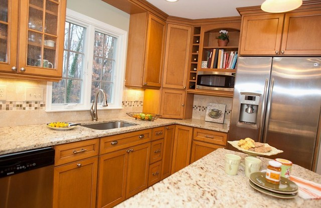 Warm, Inviting Kitchen Is the Heart of the Home kitchen
