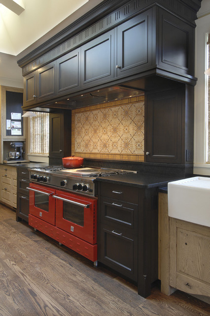 Warmington and North traditional kitchen