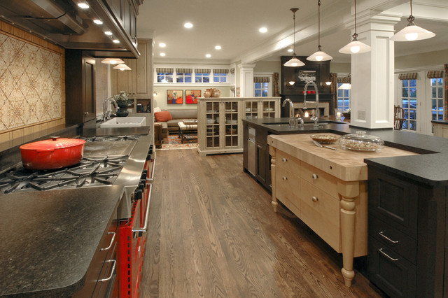 Warmington and North traditional-kitchen
