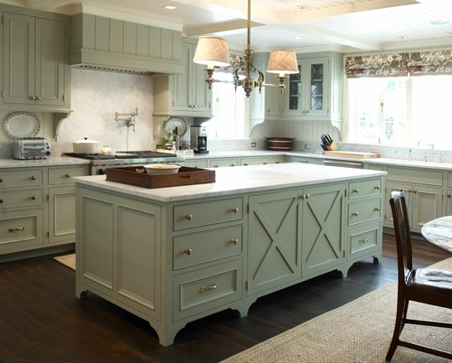 Now I Donu0027t Think Iu0027d Be As Brave As To Go Full On Green; Iu0027d Likely Stick  To White Cupboards With Pistachio Green Accents, Such As A Backsplash, ...