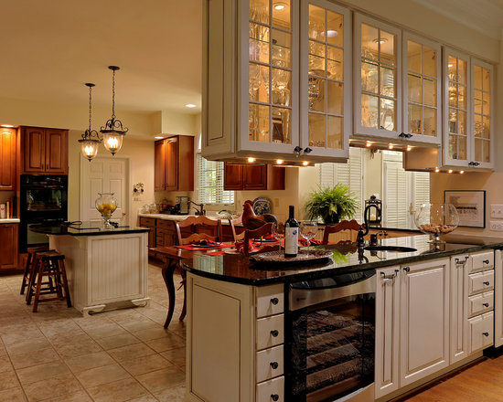 two sided kitchen cabinets sided glass cabinet home sweet home save email traditional. Black Bedroom Furniture Sets. Home Design Ideas