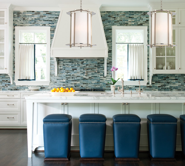 Warwick Pendants Above Kitchen Counter