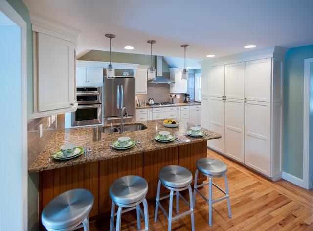 Warwick, RI - Kitchen Remodel traditional-kitchen