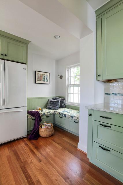 Washington D.C. - Green Transitional Kitchen - Traditional - Kitchen - dc metro - by ...