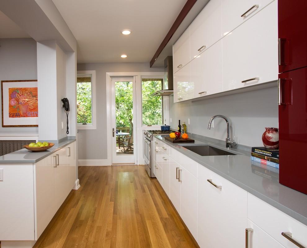 Washington DC Row-House Renovation - Contemporary ...