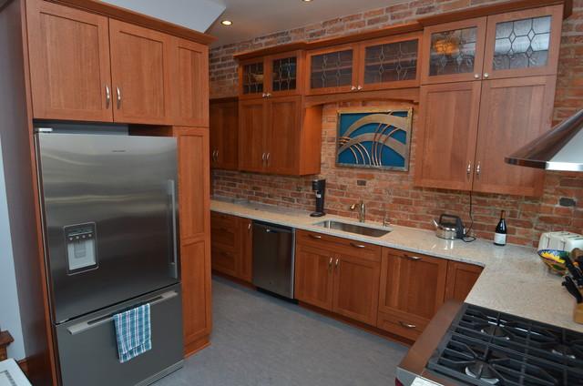 Washington dc rowhouse traditional kitchen dc metro - Kitchen and bath design washington dc ...