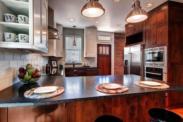 Washington Park Residence Phase II traditional-kitchen