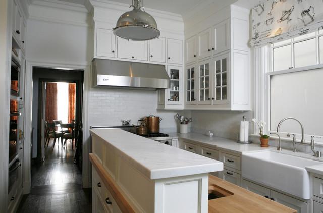 Washington Street Remodel traditional-kitchen