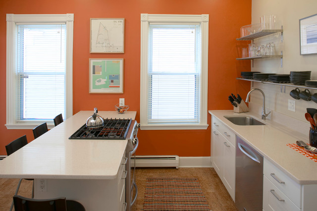 Washington Street Residence contemporary-kitchen