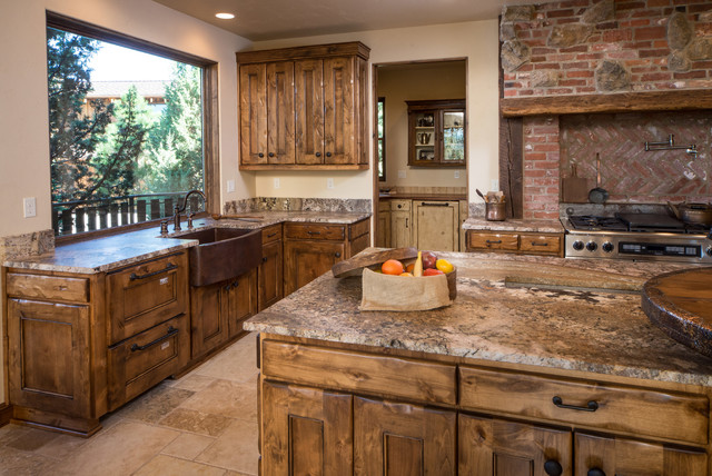 western kitchen design water tower inspired home kitchen with butlers pantry 3385