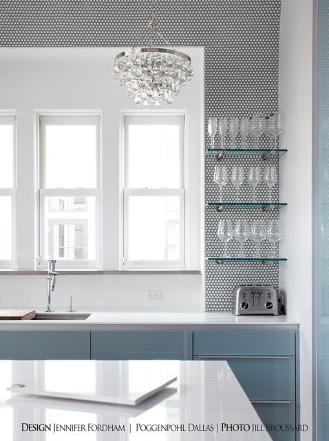 Watercolor Residence modern-kitchen