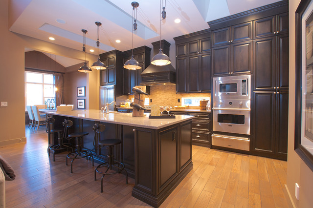 Waterford in Valley Pointe traditional-kitchen