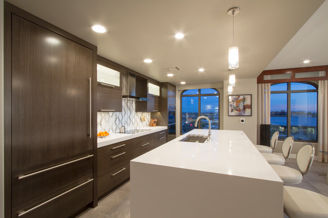 Waterfront Contemporary - Contemporary - Kitchen - Phoenix - by Davis Design Group