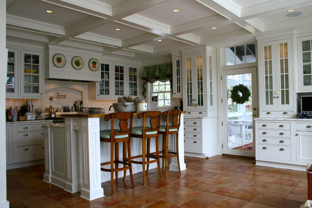 Waterfront Kitchen traditional-kitchen