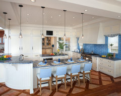 Waterfront Retreat beach-style-kitchen
