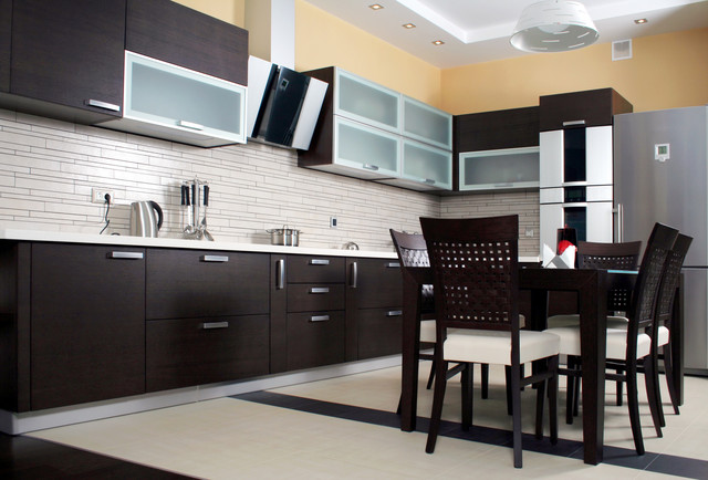 waterkloof kitchen design  wenge wood and aluminum modern kitchen waterkloof kitchen design  wenge wood and aluminum  rh   houzz com