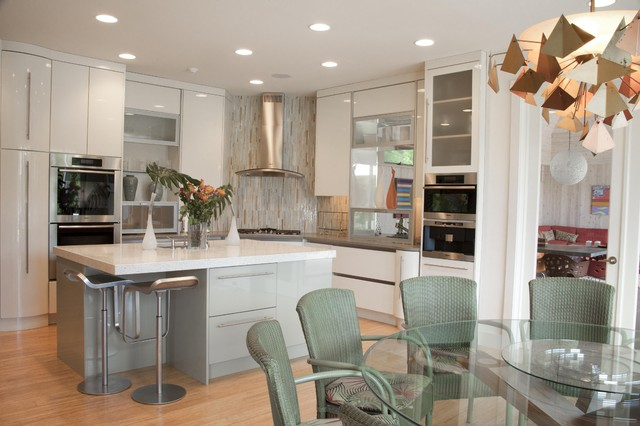 Watermill Residence Interiors contemporary-kitchen