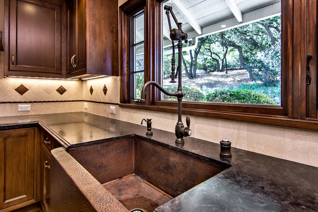 Waterstone Annapolis Gantry Faucet - Traditional - Kitchen - San ...