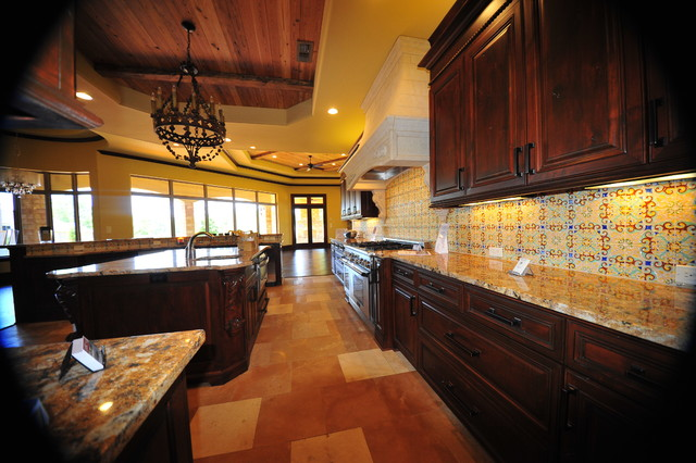 Waterview Home mediterranean-kitchen
