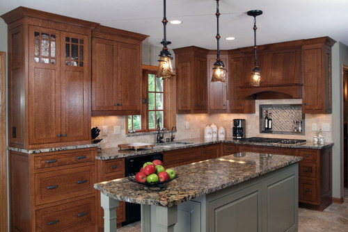 Can you please tell me where the quartersawn oak cabinets are from?