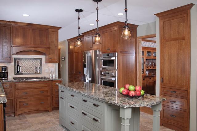 waukesha kitchen remodel - traditional - kitchen