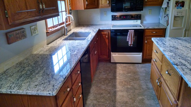 Wausau Wi Granite Countertops Kitchen Remodel Traditional Kitchen Other Metro By