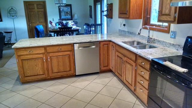 Wausau Wi Kitchen Counter Replacement New Granite Top Traditional Kitchen Other By