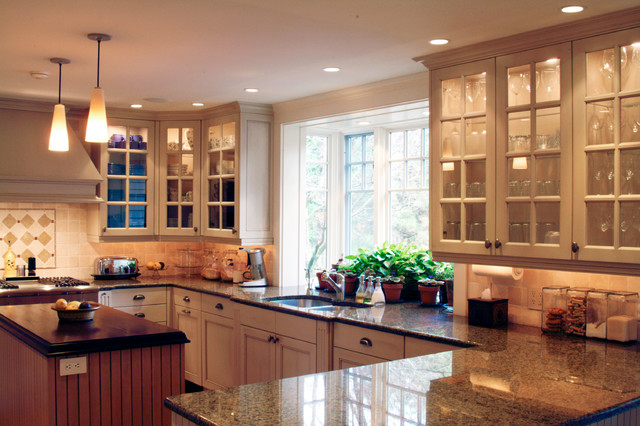 Wayland Full Renovation With Multiple Additions Traditional Kitchen Boston By Donelan