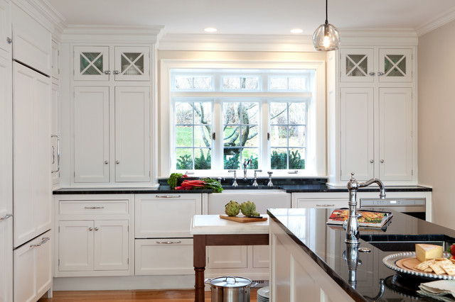 Wayland Renovation Traditional Kitchen Boston by Dalia