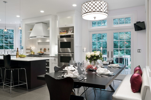 Wayland Residence Kitchen Renovation Transitional