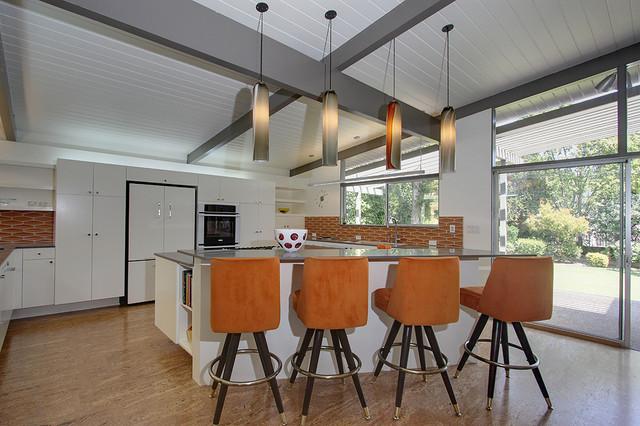 Wayne Avenue Kitchen Modern Kitchen Los Angeles By Design Vidal
