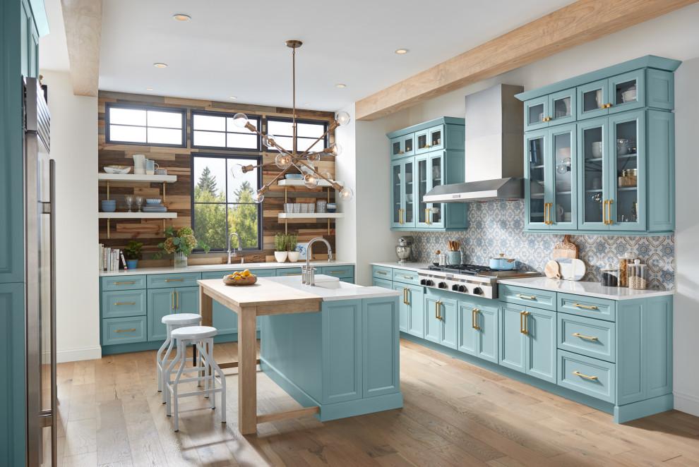 Wellborn Cabinet 2020 - Contemporary - Kitchen ...