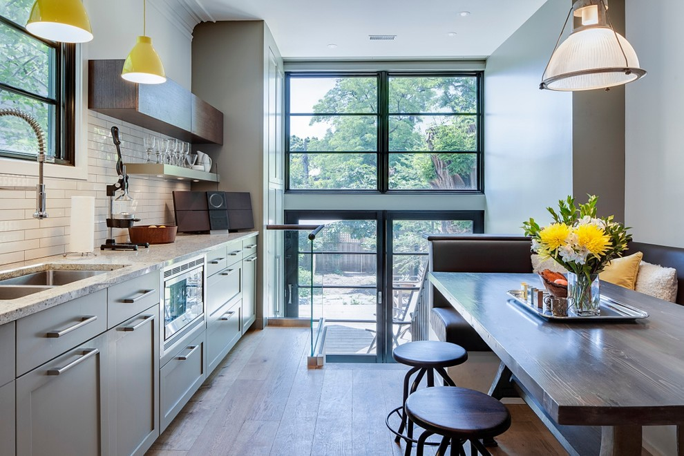 Wellesley St E - Contemporary - Kitchen - Toronto - by ...