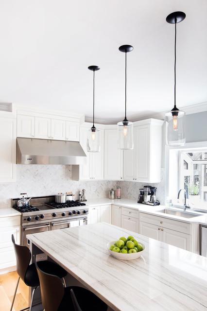 Wellington Modern Kitchen Chicago By Foster Hill Design