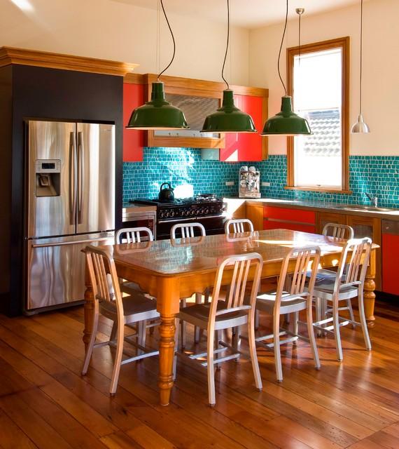 Wellington Kitchen eclectic-kitchen