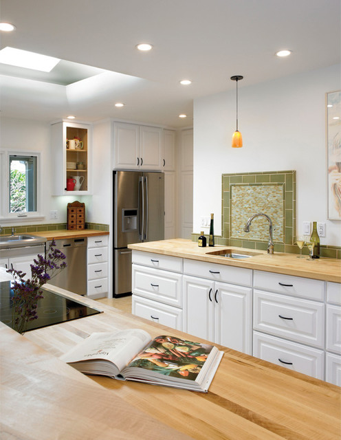 Wells Avenue Residence eclectic-kitchen