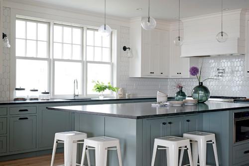 Black Granite Countertop and Cabinet Pairings | Bethel, CT ...