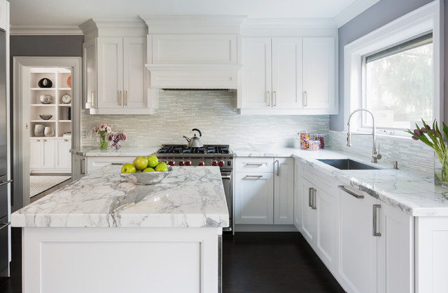 Wembeley Transitional Kitchen Toronto By Jodie