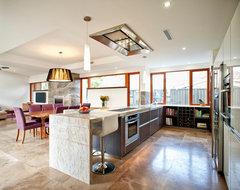 Wembley contemporary-kitchen