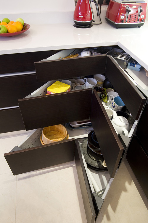 corner drawer designs