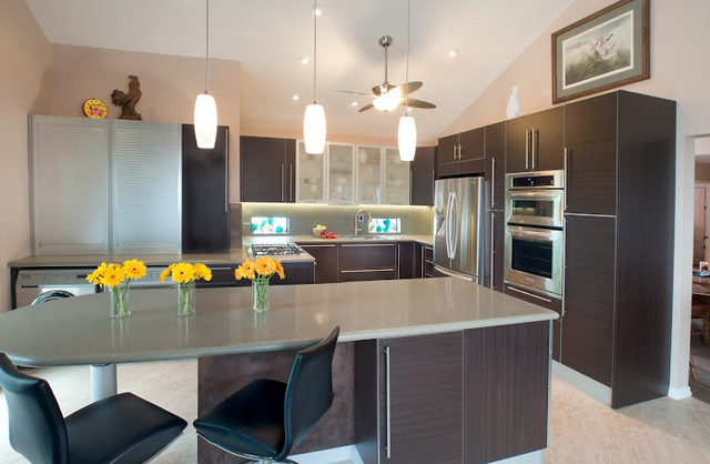 Wenge contemporary kitchen design contemporary kitchen san diego by italian kitchen - Kitchen designer san diego ...