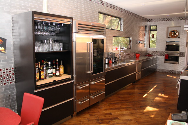 Wenge Kitchen Modern Los Angeles By
