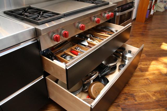 Wenge Kitchen Drawers Modern Kitchen