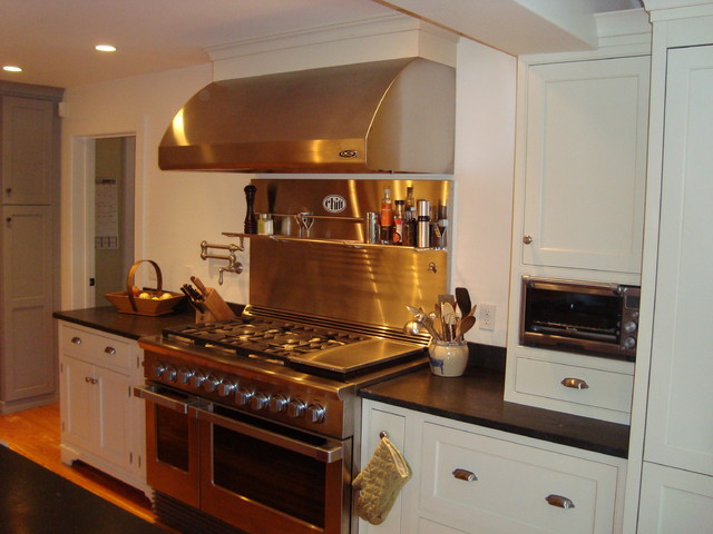 Example Of A Mountain Style Kitchen Design In Boston Part 67