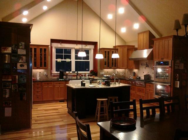 Werth Home - Clemson SC traditional-kitchen