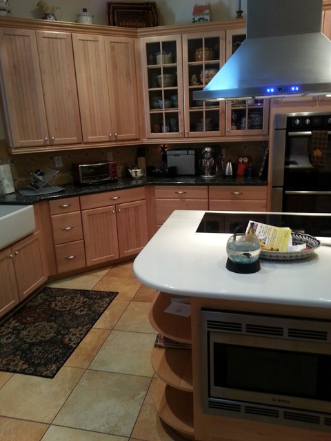Wesley Chapel kitchen traditional-kitchen