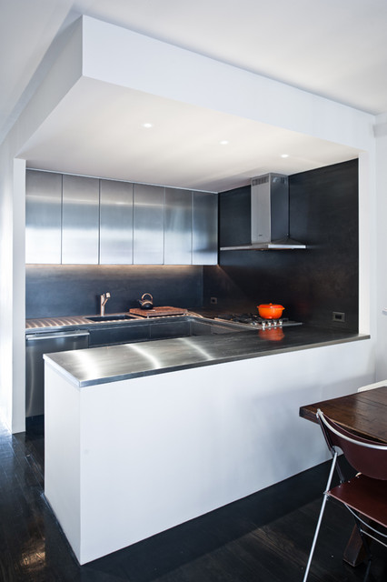 West 22nd Street Apartment contemporary-kitchen