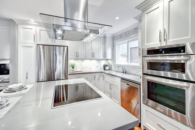 West 8th Ave - Design Project contemporary-kitchen