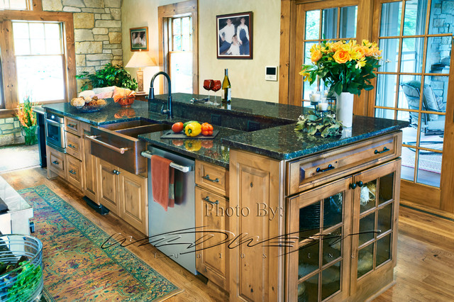 West Bend Big Cedar Lake Whole House Remodel Traditional